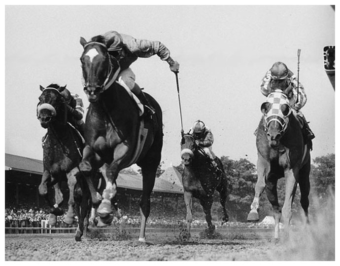 If you were to own one upset horse racing photo it would be this one onion defeats secretariat the whitney at saratoga 1973 secretariat was ill before